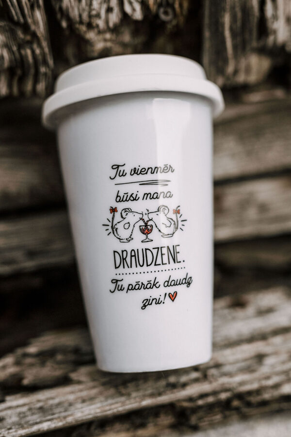 Draudzene (balta Take away)